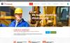 Responsive Website template over Mijnbouw Bedrijf New Screenshots BIG