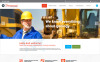 Responsive Website Vorlage für Bergbauunternehmen  New Screenshots BIG