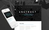 Responsywny szablon strony www Abstract #57873