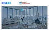 Reszponzív Window Construction - Windows & Doors HTML Bootstrap Nyítóoldal sablon
