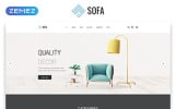 Sofa - Furniture Multipage Modern HTML Website Template