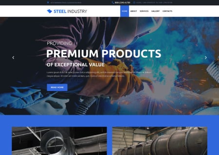 Steelworks Responsive