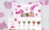 Virágüzlet  PrestaShop sablon New Screenshots BIG