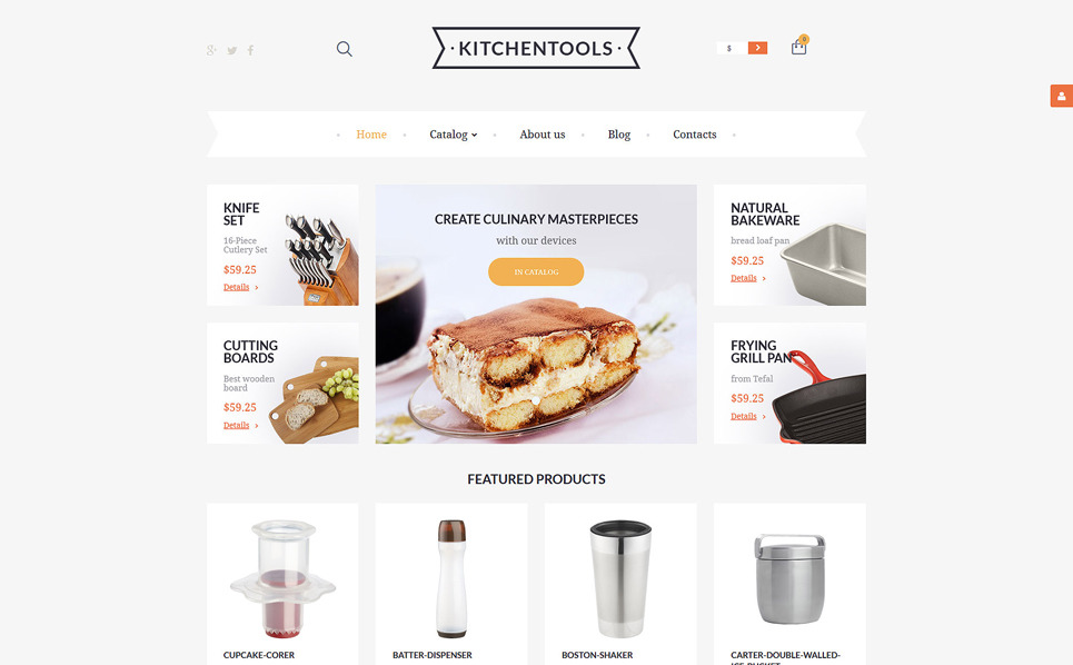 Responsive VirtueMart Template over Housewares New Screenshots BIG
