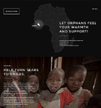 Charity Website  Template 57905