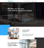Hotels Website  Template 57907