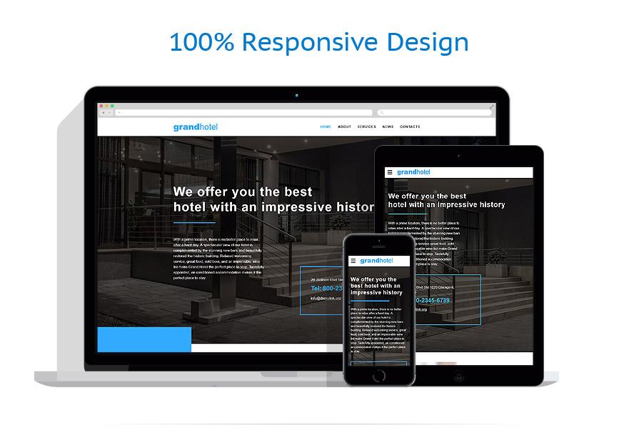 Modèles HTML5 Hôtels #57907
