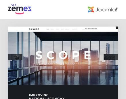 Scope - Investment Company Responsive Joomla Template