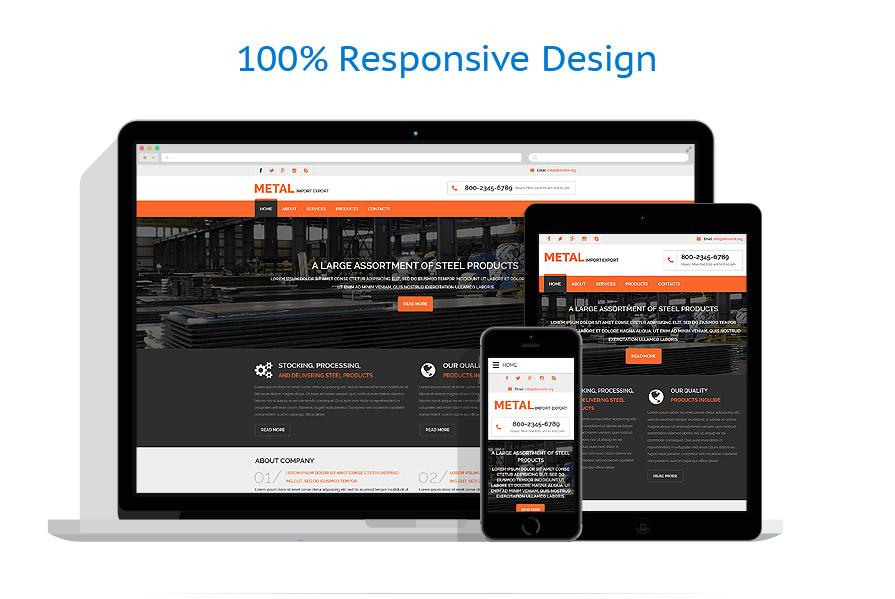 Modèles HTML5 Industriel #57917