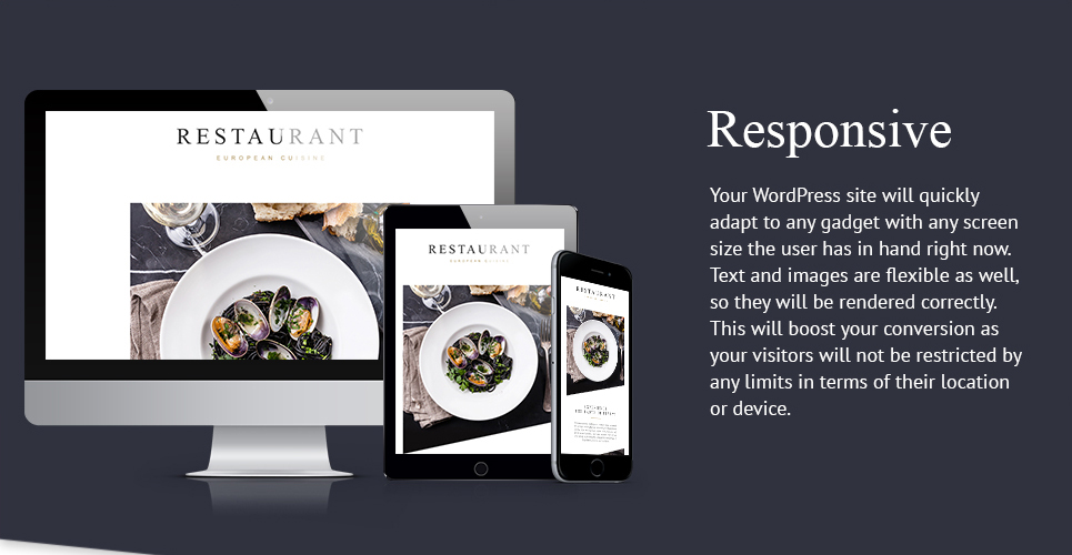 European Restaurant Responsive Newsletter Template