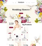 Wedding OpenCart  Template 57929