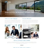 Real Estate Website  Template 57932