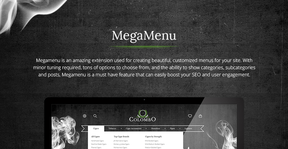 Colombo - Tobacco Responsive PrestaShop Theme