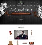 Табачные шаблоны. Шаблон сайта 57936