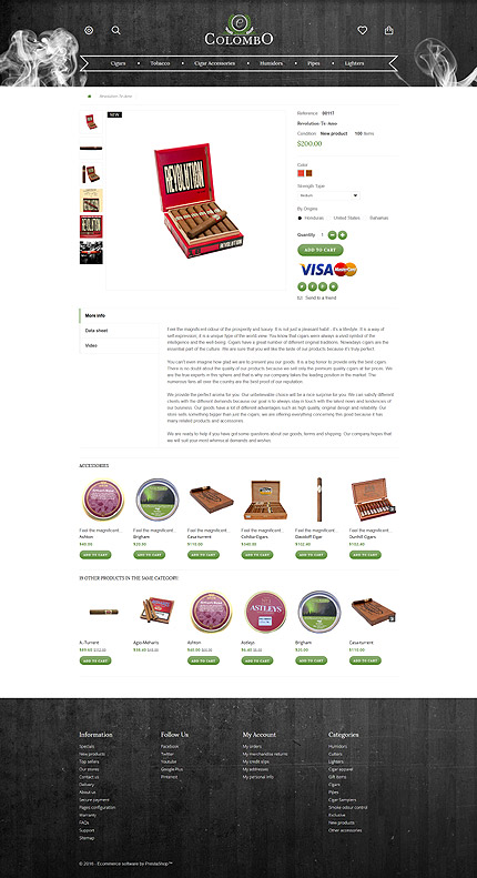 ADOBE Photoshop Template 57936 Home Page Screenshot