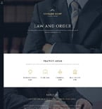 Law Joomla  Template 57937