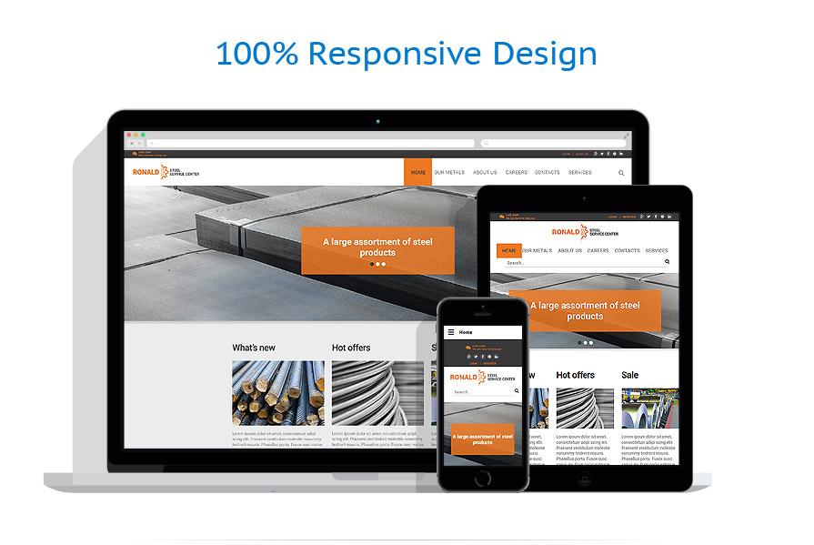 Modèles HTML5 Industriel #57944