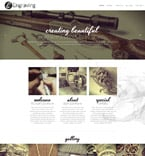 Art & Photography Website  Template 57946