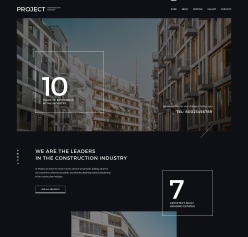 Architecture Web Templates   Architecture Website Designs