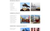 Responsywny szablon strony www Mariner - Construction Company Clean Responsive HTML #57954