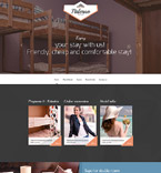 Hotels Website  Template 57957