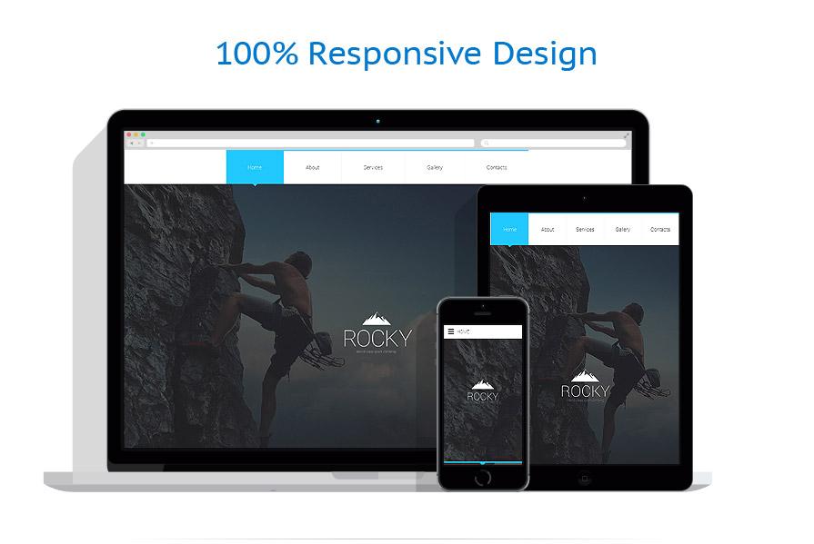 Modèles HTML5 Sport #57970