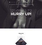 Night Club Website  Template 57973