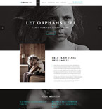 Charity Website  Template 57980