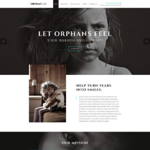 Screenshot of Orphan Care Charity Co 57980