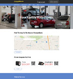 Cars Website  Template 57989