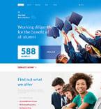 Education Website  Template 57990