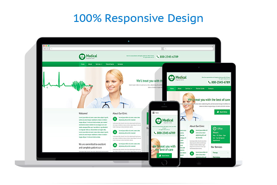 Modèles HTML5 Médical #57991