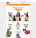 Animals & Pets Shopify Template 57997