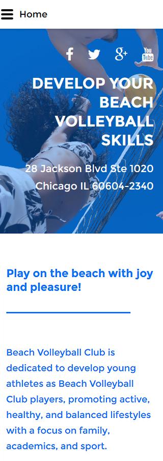 Joomla Theme/Template 57998 Main Page Screenshot