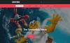 Адаптивный HTML шаблон №57969 на тему кино New Screenshots BIG