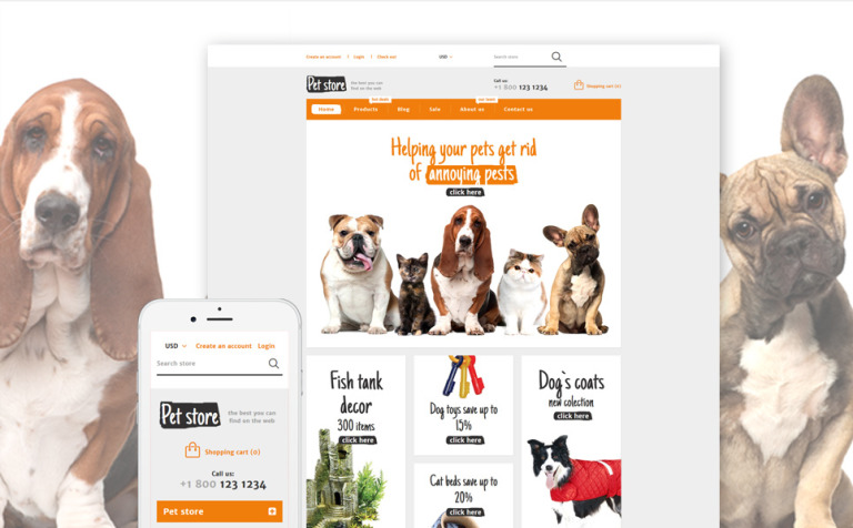 Animals Pets Shopify Theme