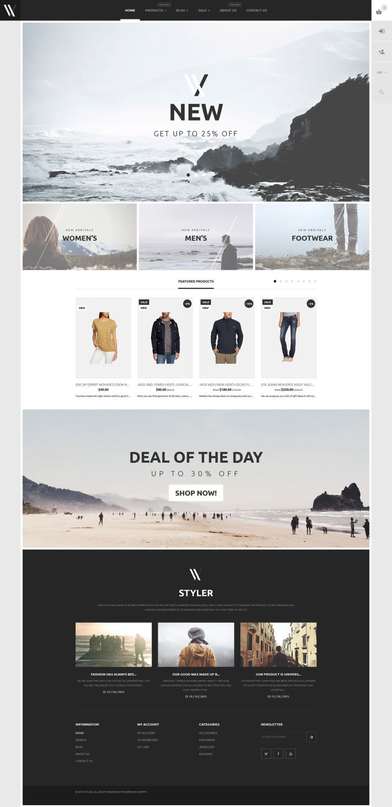 Apparel Shopify Theme New Screenshots BIG