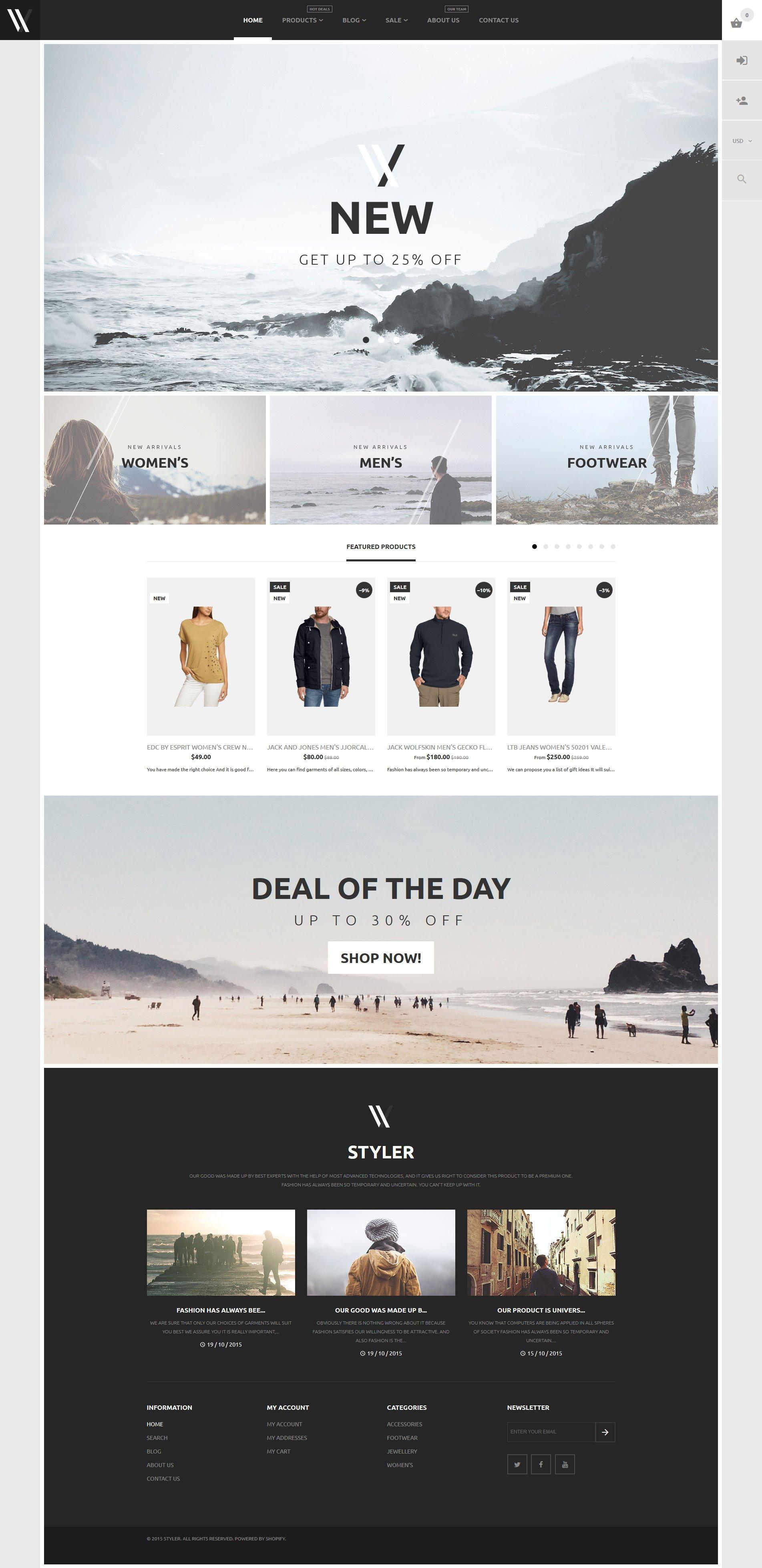 Apparel Shopify Theme