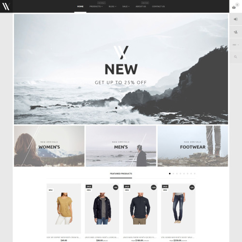 VV New - HTML5 Shopify Template