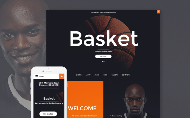 Basket Joomla Template New Screenshots BIG