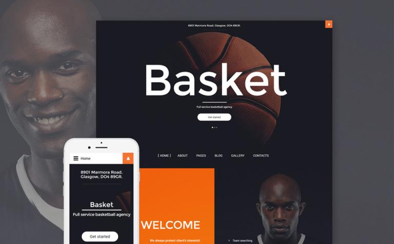 Basket Joomla Template