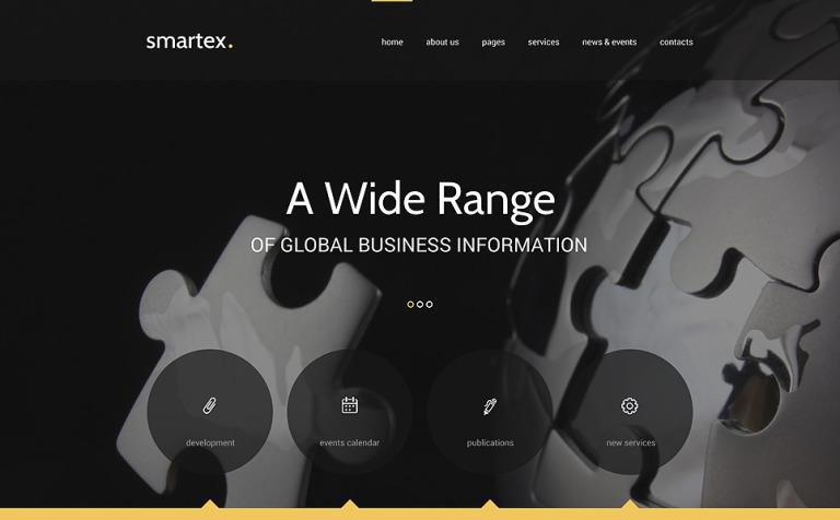 Business Responsive Joomla Template