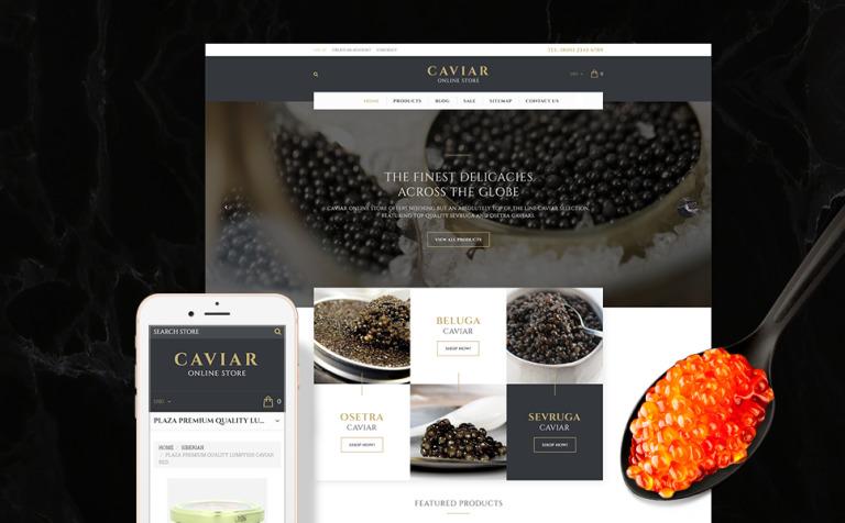 Caviar Shopify Theme