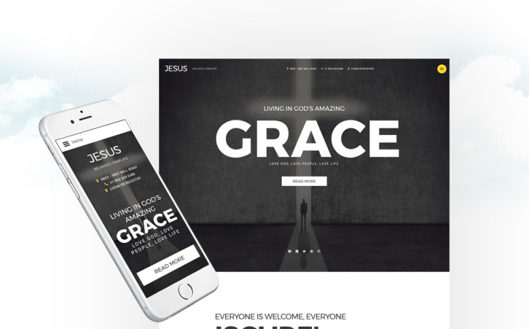 Christian Responsive Joomla Template New Screenshots BIG