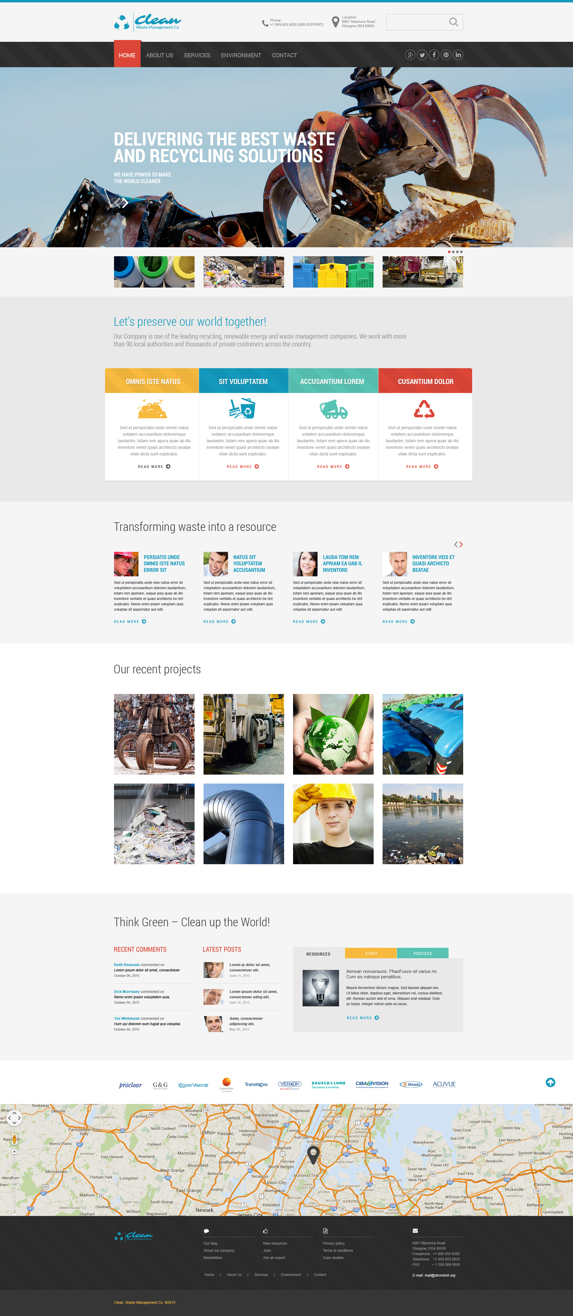 Cleaning Website Template
