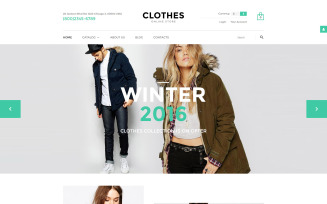 Clothes VirtueMart Template