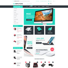 Computer Store Bootstrap Themes | TemplateMonster