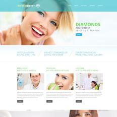 Responsive Dentistry Website Templates - Dentist website template
