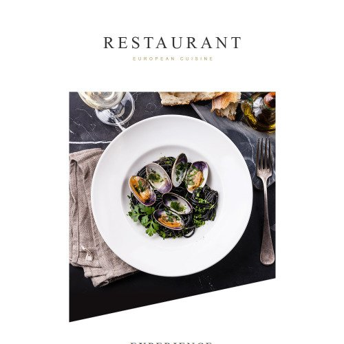 Restaurant - Responsive Newsletter Template