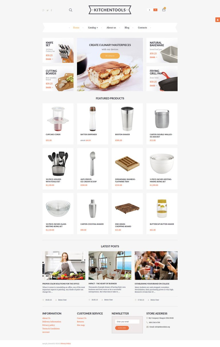 Housewares Responsive VirtueMart Template New Screenshots BIG